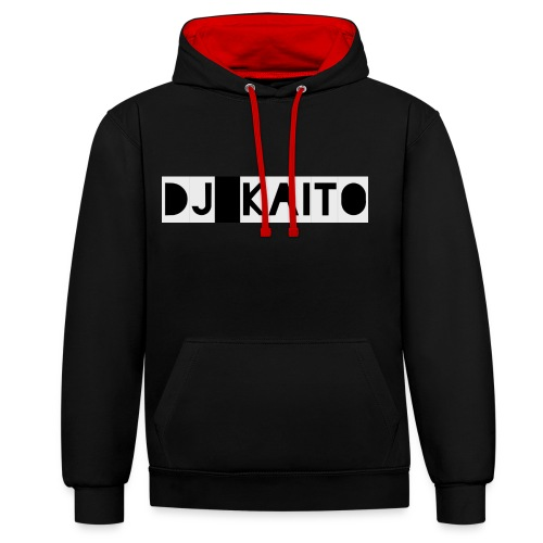 DJ Kaito Hoodie (Neu) - Kontrast-Hoodie