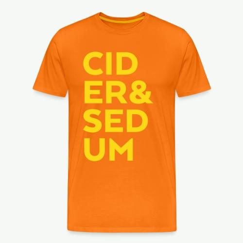 Cider & Sedum - Men's Premium T-Shirt