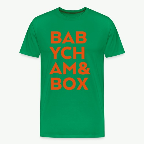 Babycham & Box - Men's Premium T-Shirt