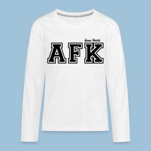 AFK-Langarmshirt (Teenager) - Teenager Premium Langarmshirt