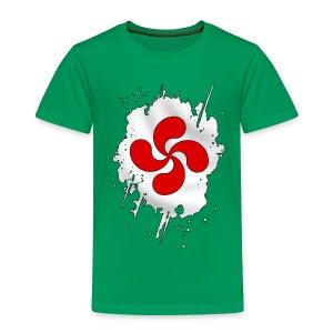 Croix Basque design - T-shirt Premium Enfant