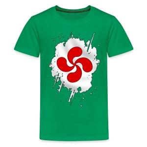 Croix Basque design - T-shirt Premium Ado
