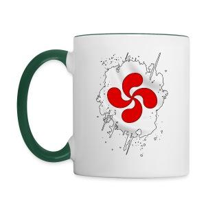Croix Basque design - Mug contrasté