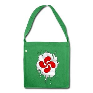 Croix Basque design - Sac bandoulière 100 % recyclé