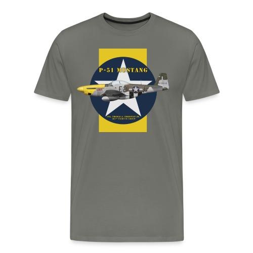 P-51 Lou IV - Men's Premium T-Shirt