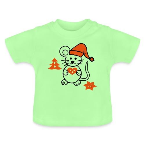 Weihnachtsmaus - Baby T-Shirt