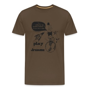 Play your dreams - Man - T-shirt Premium Homme