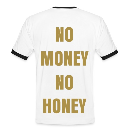 No Money Shirt 2.0 - Men's Ringer Shirt