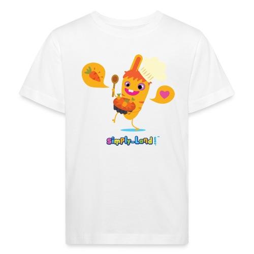 t-shirt  le carotte cake de Pinpin - T-shirt bio Enfant