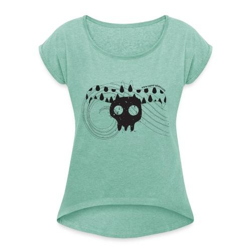 GAME OVER - WOMAN - T-shirt à manches retroussées Femme