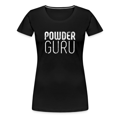 Powder Guru - Frauen Premium T-Shirt