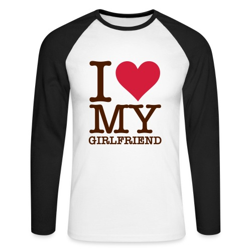 i love My mozzla - Men's Long Sleeve Baseball T-Shirt