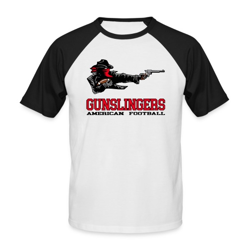 Gunslingers Männer Baseball-T-Shirt - Männer Baseball-T-Shirt