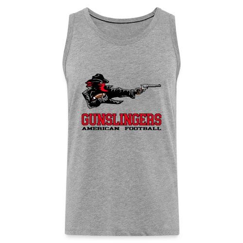 Gunslingers Männer Premium Tank Top - Männer Premium Tank Top
