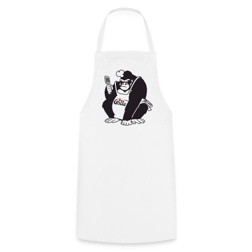 Grilla Männerschürze Weiss - Kochschürze