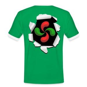 Croix Basque design - T-shirt contrasté Homme