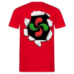 Croix Basque design - T-shirt Homme