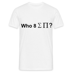Who ate all the pi(e) - Men's T-Shirt