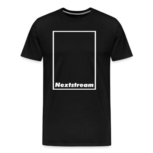 Nextstream Black T-shirt - Premium-T-shirt herr