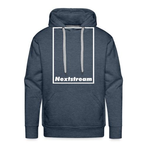Nextstream Hoodie Blue - Premiumluvtröja herr