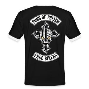 Breizh Bikers cross - T-shirt contrasté Homme