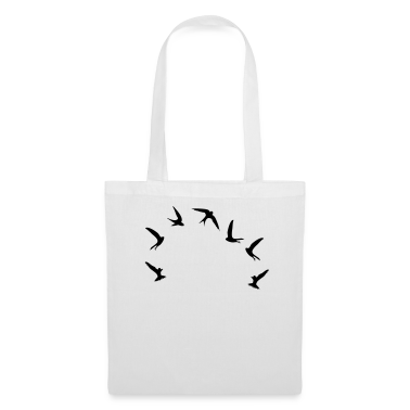 White Mauersegler / swifts (1c) Bags