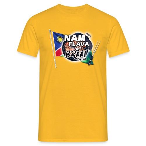 Nam Flava Braai Spice T-shirt (yellow) - Men's T-Shirt
