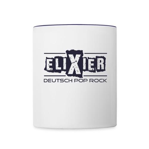 Elixier - Tasse - weiß - Tasse zweifarbig