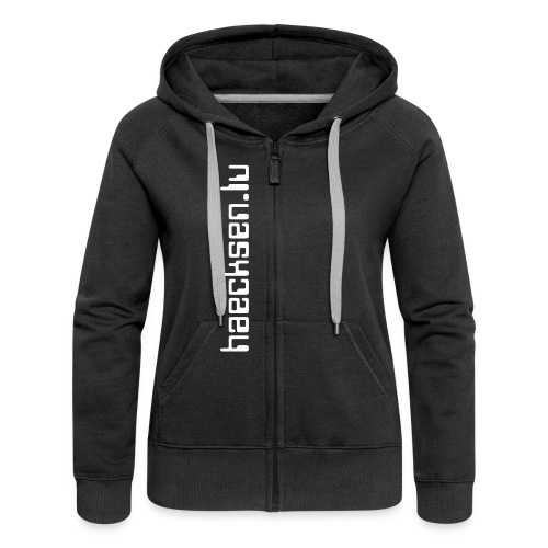 haecksen.lu (tree) - Women's Premium Hooded Jacket