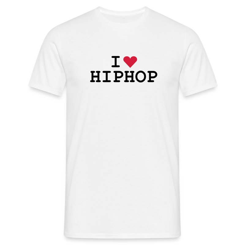 I love HipHop - Männer T-Shirt