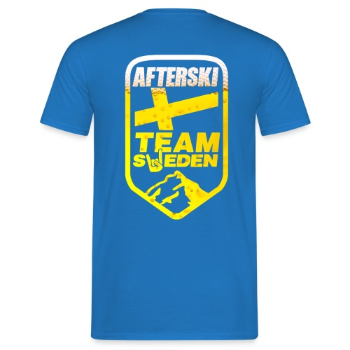 Afterski Team Sweden Beer Version - T-shirt herr