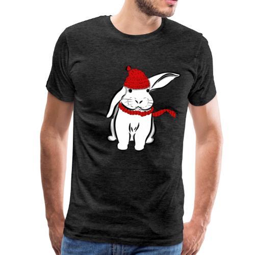 Schneehase - Männer Premium T-Shirt