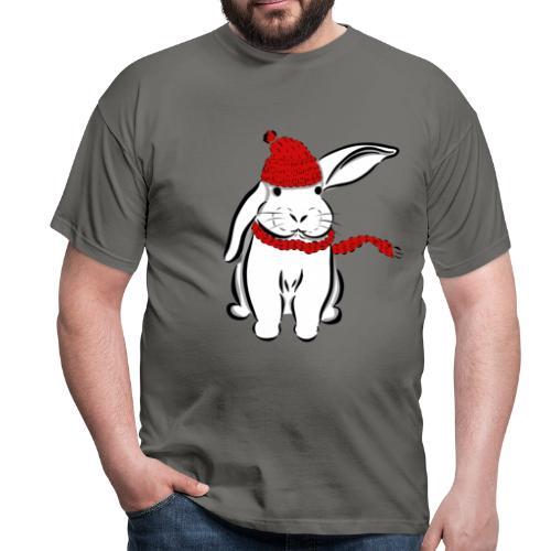 Schneehase - Männer T-Shirt