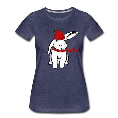Schneehase - Frauen Premium T-Shirt