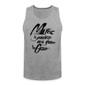 music is passion - Männer Premium Tank Top