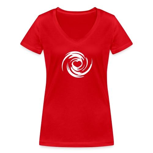 hagelsturm - Frauen Bio-T-Shirt mit V-Ausschnitt von Stanley & Stella