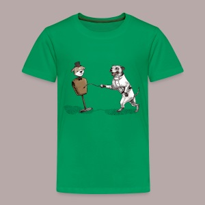 Staffie Fencer - Kids' Premium T-Shirt