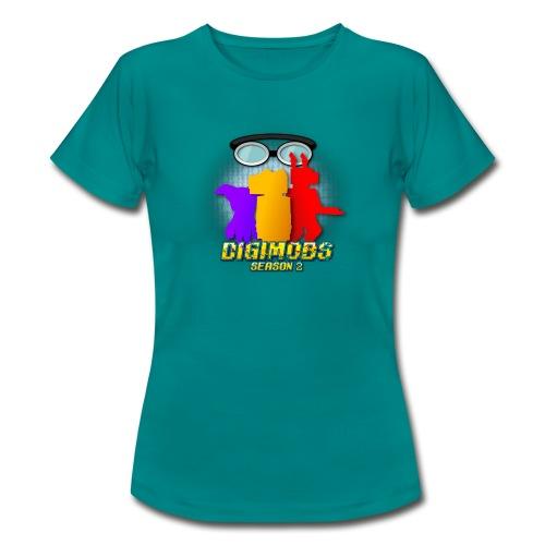 Digimobs Season 2 Womens Shirt - Women's T-Shirt