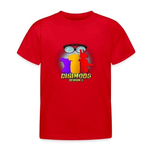 Digimobs Season 2 Kids Shirt - Kids' T-Shirt