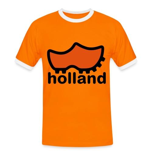 (M) T-Shirt - Voetbal 2010 - Mannen contrastshirt
