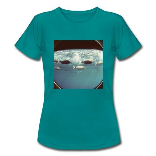 Banco de peces. - Camiseta mujer