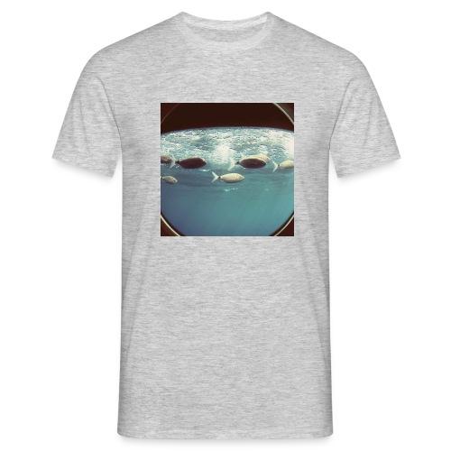Banco de peces. - Camiseta hombre