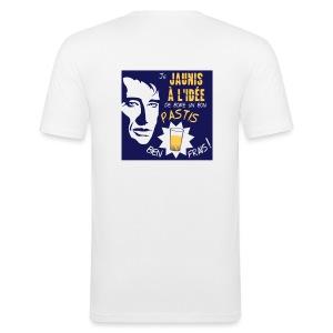 UN P'TIT JAUNE JOHN ? - Tee shirt près du corps Homme