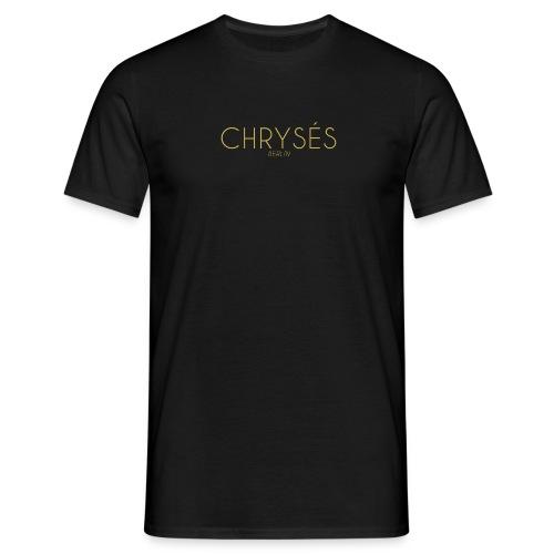 CHRYSÉS Classic black shirt - Männer T-Shirt