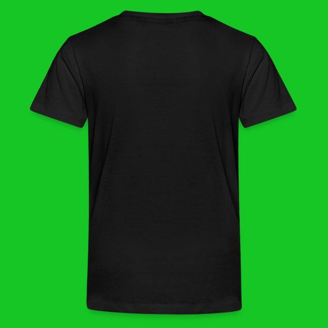 Eenhoorn regenboog tenager t-shirt