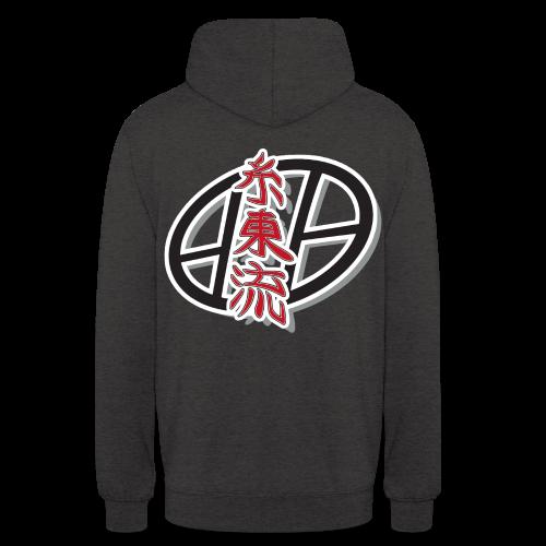 Shito-ryu hoodie - charbon - Sweat-shirt à capuche unisexe