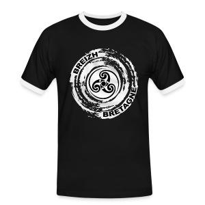 Breizh Bretagne Triskel - T-shirt contrasté Homme