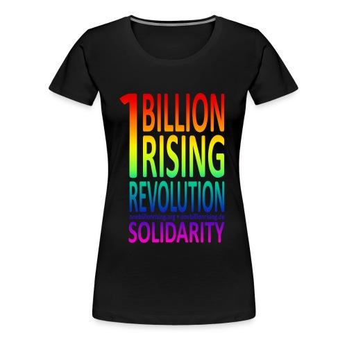OBR Rainbow 1 - Frauen Premium T-Shirt