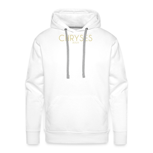 CHRYSÉS Classic white Hoodie - Männer Premium Hoodie