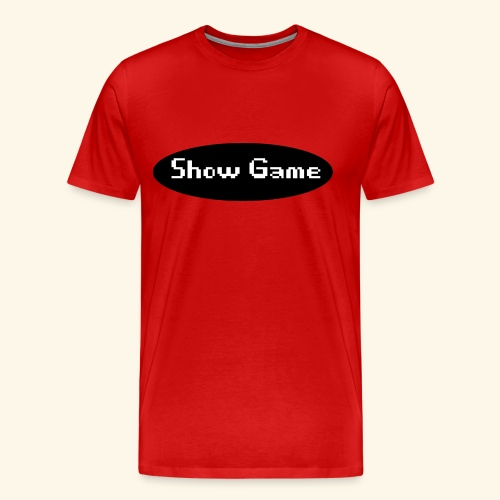 Show Game Noir - Men's Premium T-Shirt